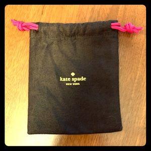 Kate Spade dust bag small drawstring